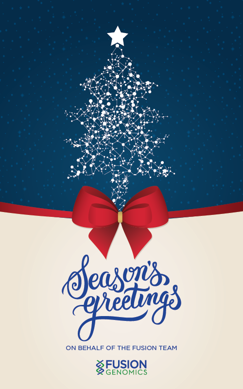 Seasons greetings fusion genomics corp as we celebrate this holiday season we thought wed take a moment to tell you about some of the wonderful things that fusion genomics accomplished in 2016 m4hsunfo